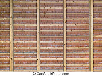 roof tiles - reverse side of a roof with roof tiles and roof...