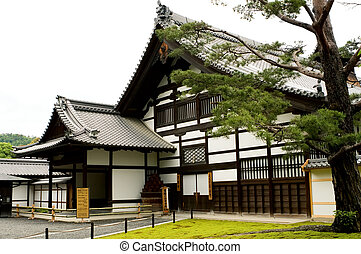 KYOTO - MAY 29 : buildings of Kinkakuji Temple on may 29,...
