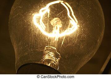 light bulb - Light bulb on, great idea
