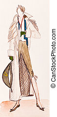 French aristocrat - historical costume - French aristocrat...