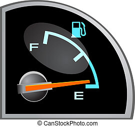 Gas Tank vector Illustration