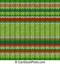 Ethnic Style Seamless Knitted Pattern