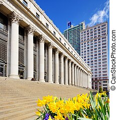 United States Post Office - James Farley Post Office April...