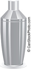 Classic cocktail shaker