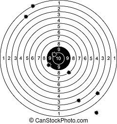 Shot on target