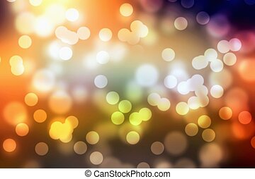 Christmas light  - Color background blur- Christmas light