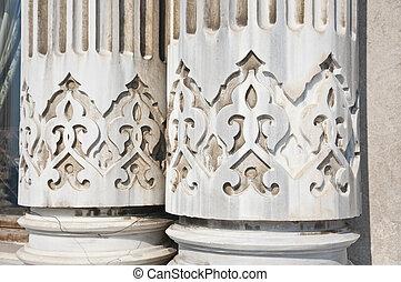 Ancient architectural details