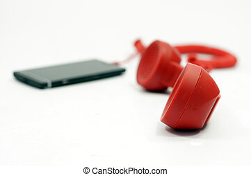 Mobile phone with extension handset - Mobile phone with a...