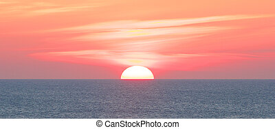 Amazing Sylt Sunset - Amazing sunset over the German North...