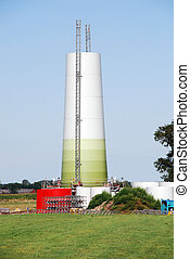 Constuction windturbine - Construction of a new windturbine...