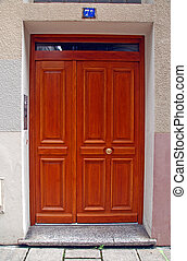 French doorway #4 - French doorway detail