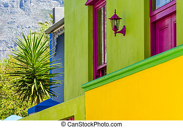Bo Kaap, Cape Town 003-Detail - The Colourful Bo Kaap...