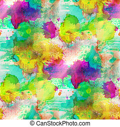background yellow, green, purple texture watercolor seamless abstract pattern paint art wallpaper color paper