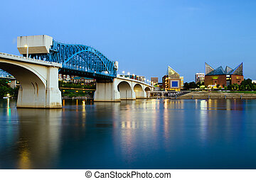 Downtown Chattanooga, Tennessee - Image of downtown...