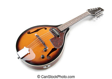 Country mandolin 2 - Color photo of a mandolin in country...