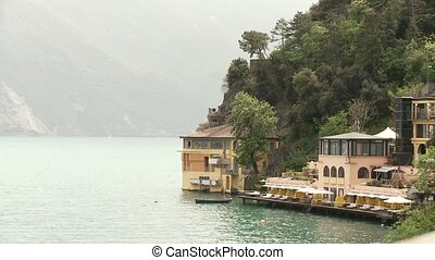 Lake Garda, Italy - video footage of a house at the lake...