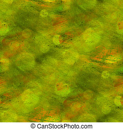 pattern background green, yellow texture watercolor seamless abstract paint art wallpaper color paper