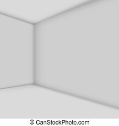 Abstract white room vector illustration