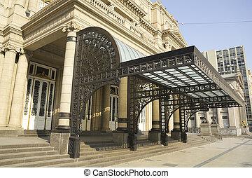 Colon Theatre, Buenos Aires, Argentina. - Columbus Theatre...