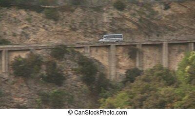 Mountain Road, Street at lake garda, Italy - road at the...