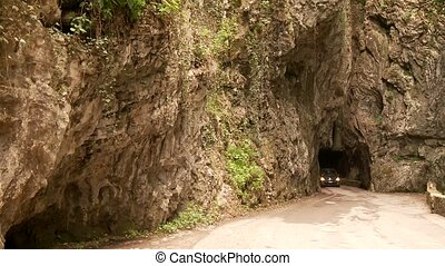 Canyon Street - road SP 38 at the brasa canyon at the lake...