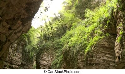 Canyon Street - road SP 38 at the brasa canyon at the lake...