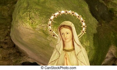 Virgin Mother in a valley, brasa, italy