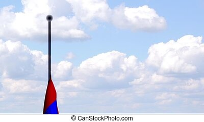 Animated Flag of Armenia - An animated flag of Armenia with...