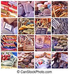 Provence, Mercado