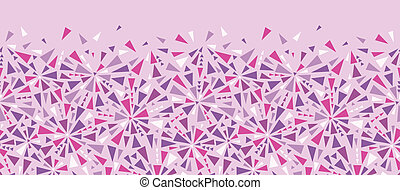 Abstract colorful triangles texture horizontal seamless...