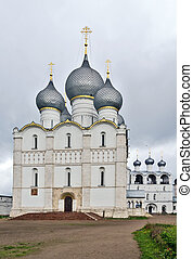 Rostov Kremlin - Cathedral of the Dormition of the Theotokos...