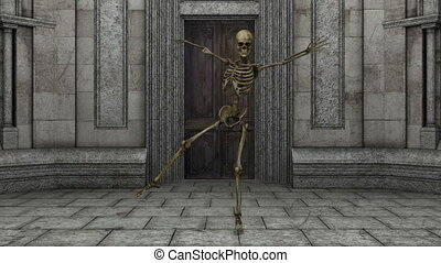 skeleton - dancing skeleton