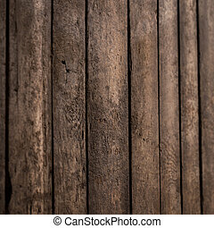 Wooden Board - Wooden board in close-up