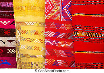Arabic colorful  blanket