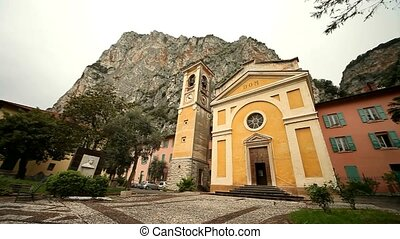 Church - church in Italy at lake garda in Campione