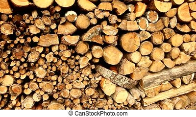 Stack Of Wood - stack of wood