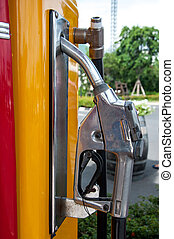 Strilmunstycke,  pump,  gas