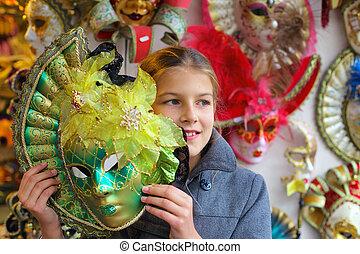 Carnival in Venice. Italy