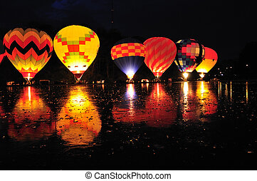 Balluminaria 2008, The world\\\'s largest hot air balloon...
