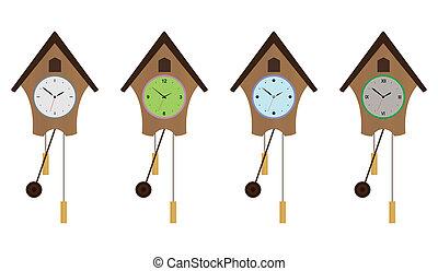 Cuckoo-clock set EPS 10