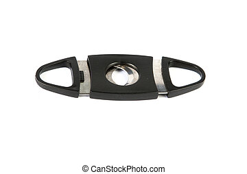Cigar Cutter On White