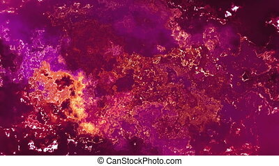 Cosmic Rust Abstract Texture Looping Animated Background