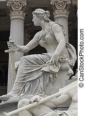 célèbre, statue