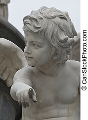 angel pointing at you - the famous sculptures around the...