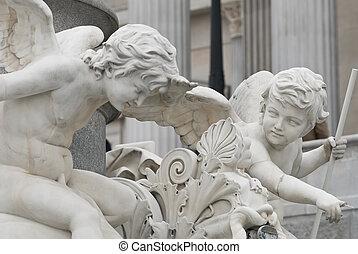 anjos, comunicar