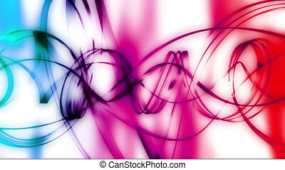 Twisted Colors Looping Abstract