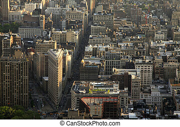 New York Flatiron Building - Flatiron Building New York City...