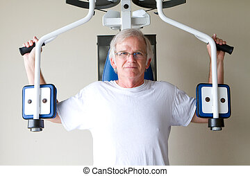 Elderly Weight Training