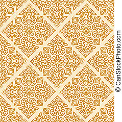Seamless royal golden pattern