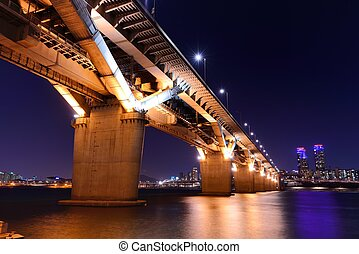Bridge over the Han RIver - Bridge over the Han River in...